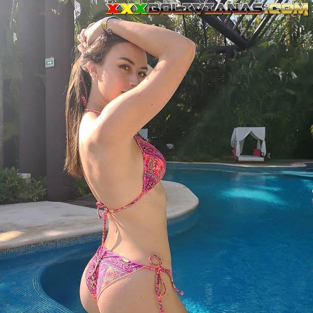 Claudia Arce Lemaitre bikini